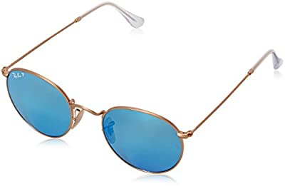 Ray-Ban Men's ORB3447 112/4L50 Polarized Round Sunglasses