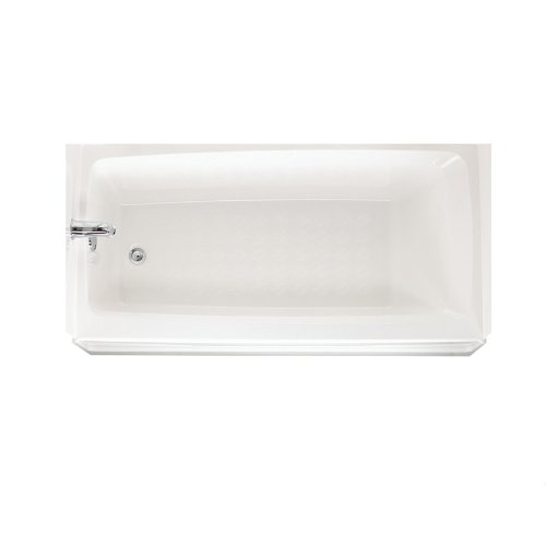 Swanstone BT-3060L-010 Veritek 60-Inch Tub With Apron and Left Hand Drain, White Finish