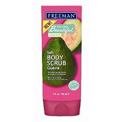 Freeman Feeling Beautiful Salt Body Scrub Guava 6 oz.