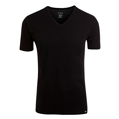 jockey-modern-stretch-v-neck-t-shirt-3er-pack-grosselfarbeschwarz-999