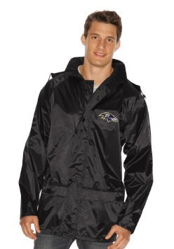 Mens Baltimore Ravens Purple Pylon Track Full Zip Jacket