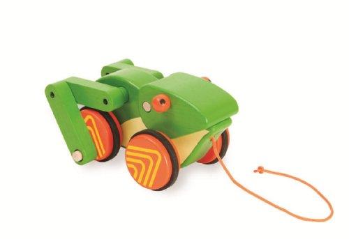 Manhattan Toy Pull-A-Long Friend, Froggy - 1
