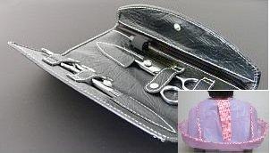 ケープ付き 美容プロ仕様 高級散髪ハサミ2本セット+ケース