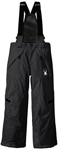 Spyder Boys Force Pant, 8, Black/Black