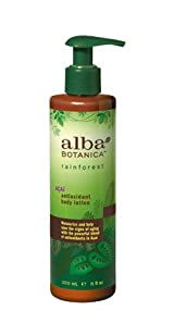 Alba Botanica Acai Antioxidant Body Lotion, 8 oz