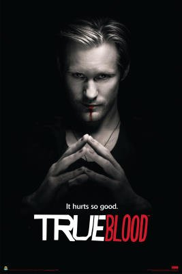 True Blood Poster 24x36 Eric Northman Hurts Good People Poster Print, 24x36 Poster Print, 24x36
