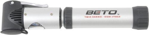 Beto 63763 - Pompa per bicicletta, colore: Argento