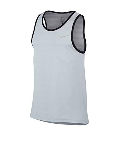 Nike Camiseta Tirantes Hyperelite Knit Tank Antracita / Negro / Plata