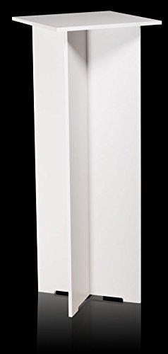 Quick Set Pedestal - 15.25 X 15.25 Top - 40 Tall - White (Tall White Pedestal compare prices)