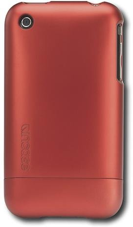 Incase CL59281B Metallic Slider Case for iPhone 3G and iPhone 3GS, Metallic Red