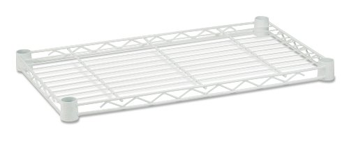 Honey-Can-Do SHF250W1424 Steel Shelf for Urban Shelving Units, 250lbs Capacity, White, 14L x24W