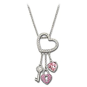Swarovski Key to My Heart Pendant
