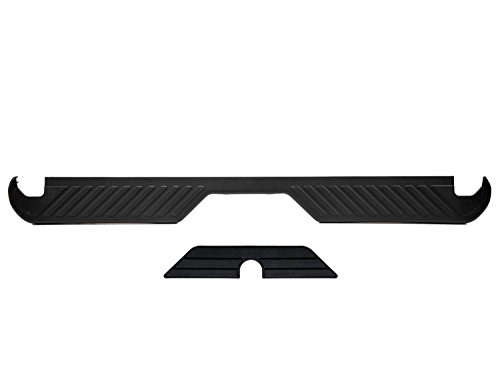 Ford F150 F250 F350 Bronco Rear Bumper Upper & Lower Center Black Step Pads OEM (Ford Bronco Rear Bumper compare prices)