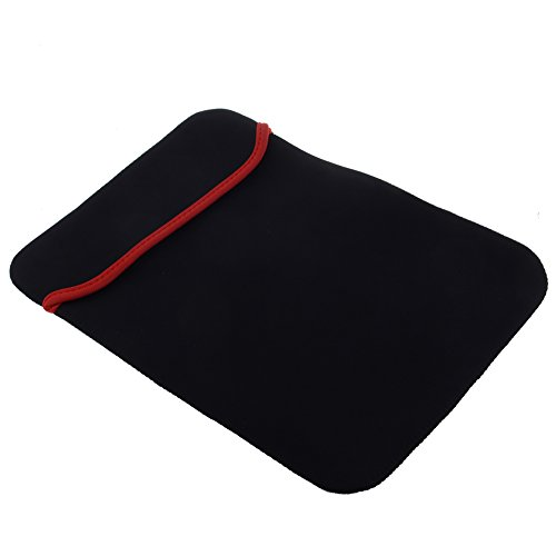 Neewer� 13 Reversable Coal-black & Red Neoprene Notebook Laptop Sleeve Soft Envelope Pouch for 13 Inch HP Acer Dell Asus Toshiba Samsung and Other Laptops