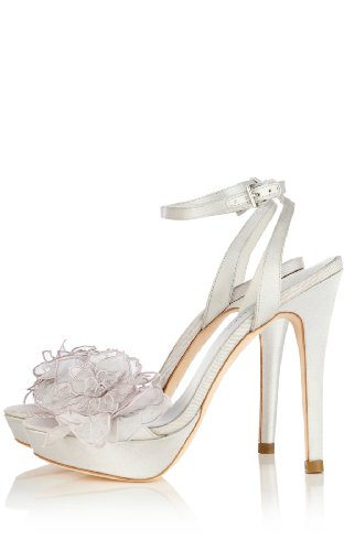Floral Cutwork and Applique Sandal