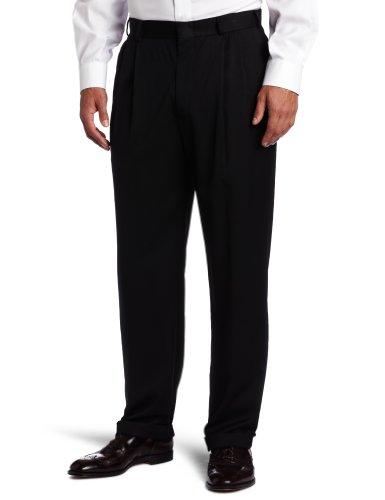 Dockers Mens Solid Herringbone Suit Separate Pant