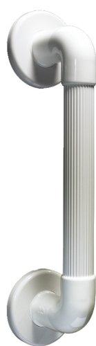 Haltegriff - Kunststoff, geriffelt, 300 mm, weiß