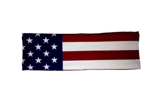 Flag Headband (Usa, One Size)