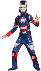 Marvel Comics - Boy's Costume: Iron Patriot Classic- Medium