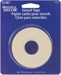 Plaid 34002 Stencil Tape, 30-Yards front-815322
