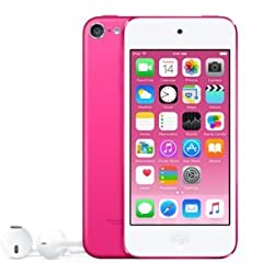 Apple iPod touch 64GB (6th Gen) - Pink (MKGW2LL/A)