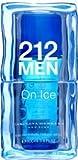 212 On Ice for Men, 2006 (Blue) by Carolina Herrera Eau de Toilette Spray 100ml