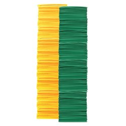 Youth Pinnies 144 Pack Green Yellow (PAC) by SSG