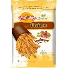 Snikiddy All Natural Barbeque Baked Fries, 4.5 Ounce -- 12 Per Case. front-728242