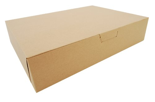 Southern Champion Tray 1029K Kraft Non Window Bakery Box, 19