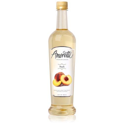 Amoretti Premium Syrup, Peach, 25.4 Ounce