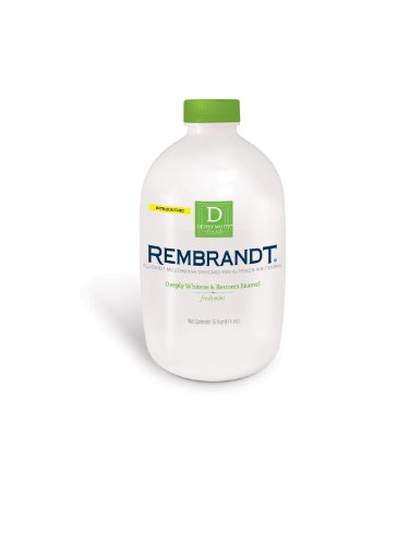 Rembrandt Deeply White Whitening Mouthwash  Fluoride