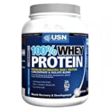 USN 100% Whey Protein 908 g Vanilla Muscle Development and Recovery Shake Powder