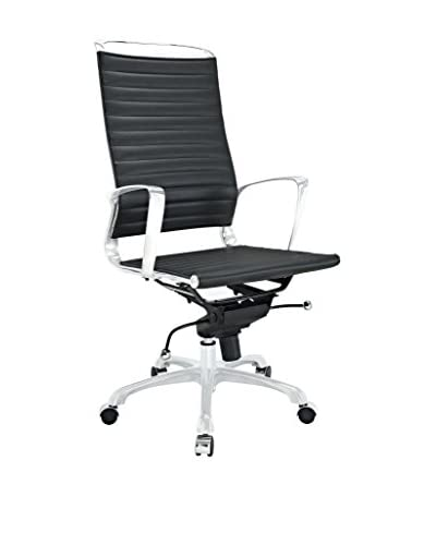 Modway Tempo Highback Office Chair, Black