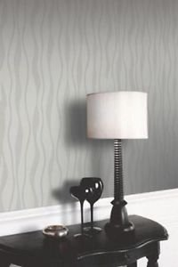 Arthouse Glitz Wallpaper - Silver from New A-Brend