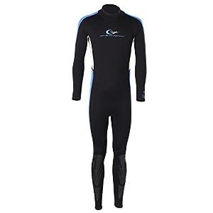 2.5mm Traje de Buceo Completo de Neopreno Elástico para Hombre Surf Buceo Deporte Deportivo Nadar Natación Talla XL