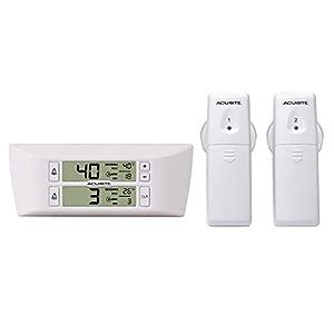 AcuRite 00986 Refrigerator/Freezer Wireless Digital Thermometer