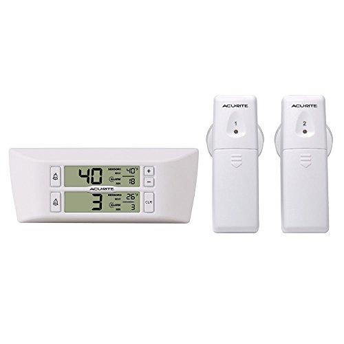 Acu_Rite Refrigerator/Freezer Wireless Digital Thermometer 00986