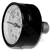 "Super Pro Pressure Gauge, 0-60 Psi, 1/4"" Nipple from Super-Pro"