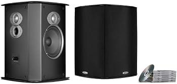 Polk Audio FXI A6 Surround Speakers (Pair, Black)