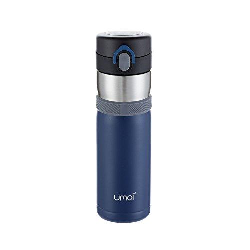 UMOI Vakuum Travel Mug isolierter Thermobecher 420ml, 100%...