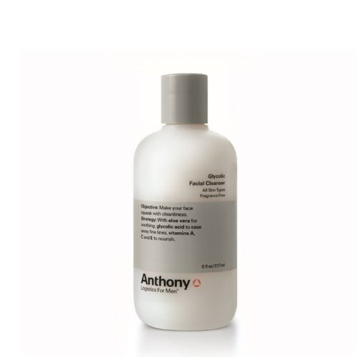 Anthony Logistics for Men Anthony Logistics For Men Glycolic Cleanser, 8-Ounce