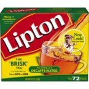 Lipton Decaffeinated Tea bags 72 ct by Unknown