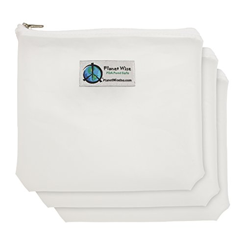 Planet Wise Reusable Clear Zipper Sandwich Bag - 1
