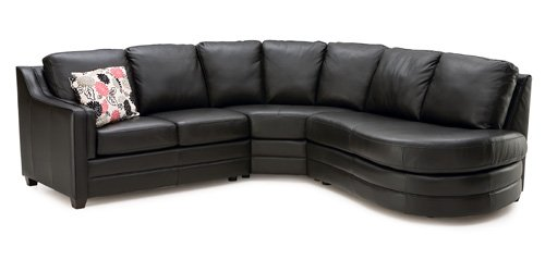 Clearance Corissa Sectional Sofa Series Leather Sectionals ...