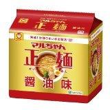 マルちゃん正麺 醤油味 5食パック 4901990510974