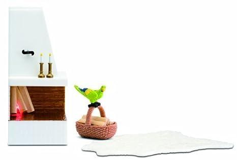 Lundby 1:18 Scale Dolls House Smaland Corner Fireplace Set by Micki Leksaker Ab (English Manual)