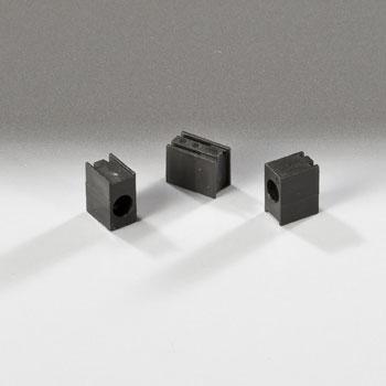 Led Mounting Hardware Led Holder 3Mm Single Level Black (5 Pieces)