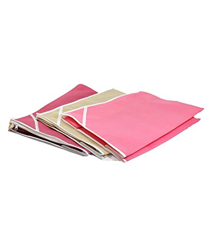 Non woven Saree cover 9 pcs combo/Wardrobe Organiser/Regular Clothes Bag