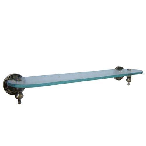 Elements Of Design Eba9919Ab Glass Bathroom Shelf