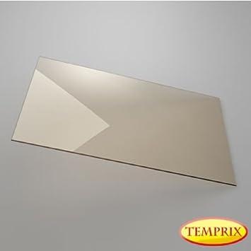 Kaminscheibe Kaminglas 310 X 245 X 4mm Ofen Glas Temprix